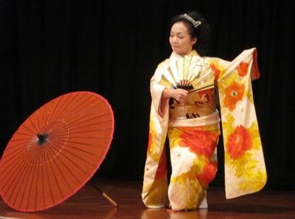 Umbrella dance
