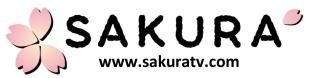 sakura tv logo